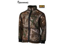 Veste polaire réversible BROWNING Powerfleece Realtree Camo/vert